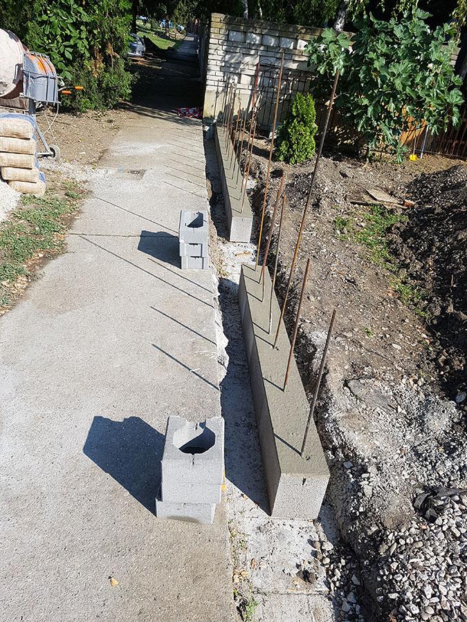 Realizácia okrasného plotu Metropol 4