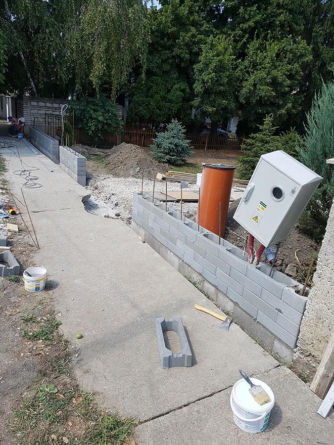 Realizácia okrasného plotu Metropol 5
