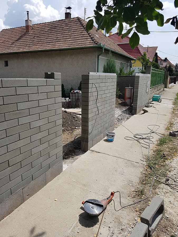 Realizácia okrasného plotu Metropol 6