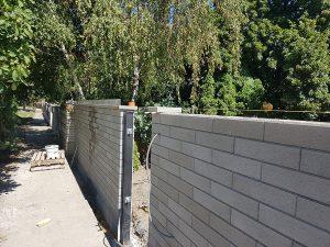 Realizácia okrasného plotu Metropol 7