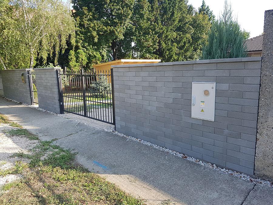 Realizácia okrasného plotu Metropol 8