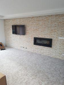 lepenie dekoračného umelého kameňa interiér 3