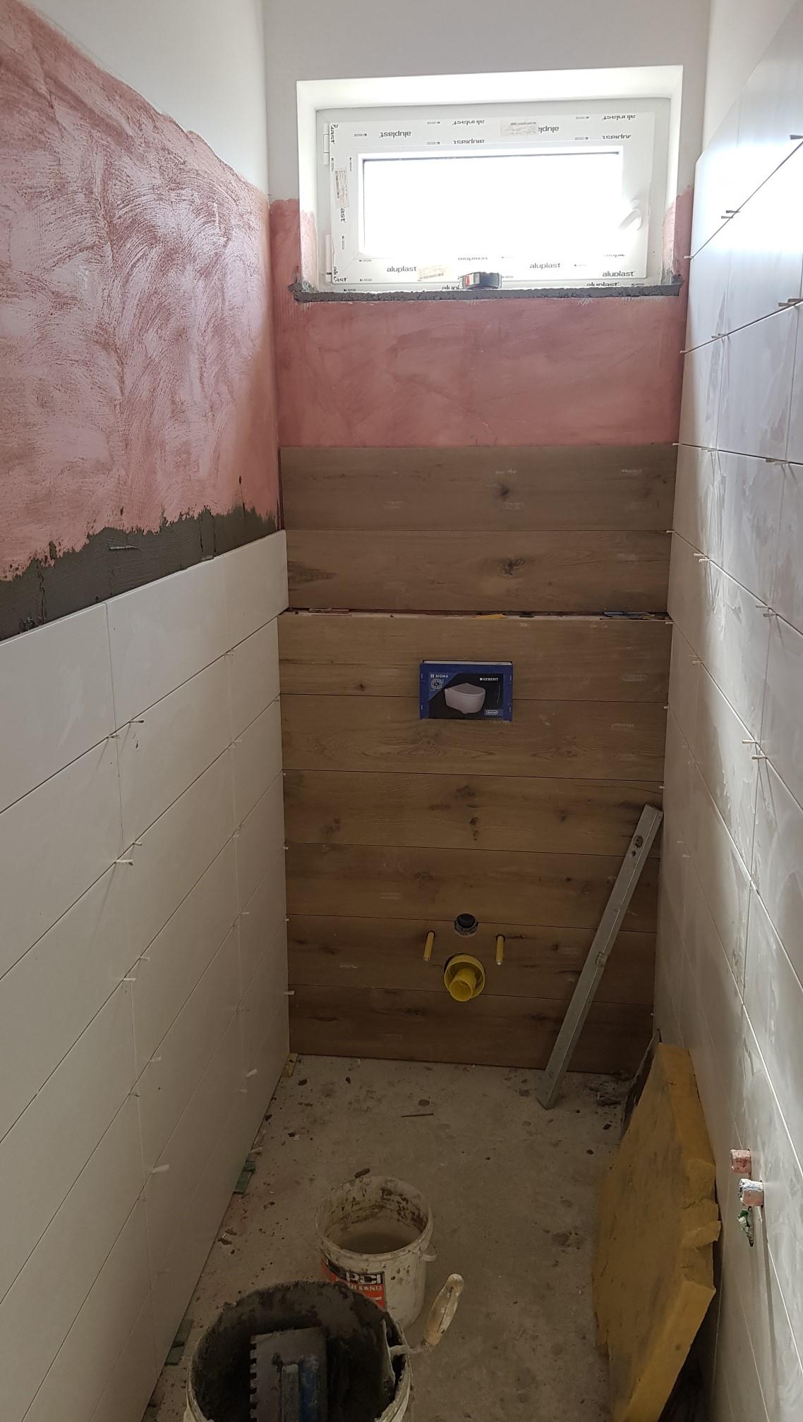 okladanie záchoda (vr...a)
